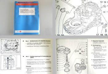 Reparaturleitfaden VW T4 Werkstatthandbuch 098 Automatikgetriebe ab 1991