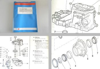 VW T4 syncro Werkstatthandbuch 4x4 Getriebe 02D Reparaturleitfaden ARF ARL - DDA