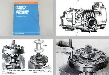 Reparaturleitfaden VW Transporter Werkstatthandbuch 4-Gang Getri