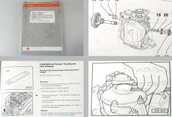 Reparaturleitfaden Audi A4 B5 Automatisches Getriebe 01N CUW CLF ... DMV DMX