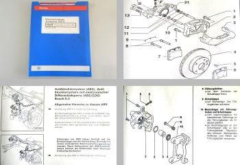 Reparaturleitfaden VW T4 Transporter syncro Bremse ab96