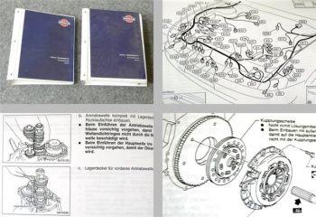 Werkstatthandbuch Nissan Primera P11 von 1996 - 1998 Reparatur 2 Bände