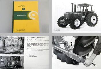 Original John Deere 4040S 4240S Traktor Betriebsanleitung ca 1983 Bedienung