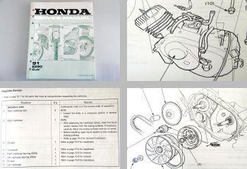 Honda EZ90L Service Manual Repair Werkstatthandbuch 1990