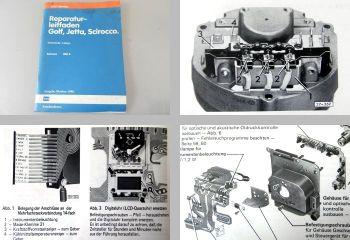 Reparaturleitfaden VW Scirocco II 53B Elektrische Anlage Werkstatthandbuch 1986