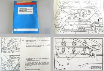 Reparaturleitfaden VW Golf 3 Typ 1H CitySTROMer Elektroantrieb Werkstatthandbuch