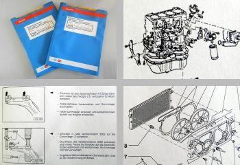 Reparaturleitfaden VW Golf 3 Vento Werkstatthandbuch 1,6 L Motor