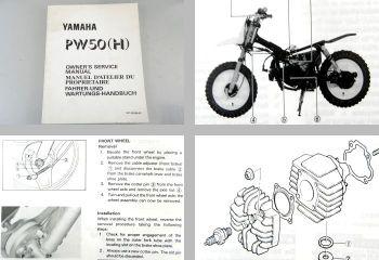 Yamaha PW50(H) Betriebsanleitung Wartung 1995 Code 3PTJ 3PTL 3PTK