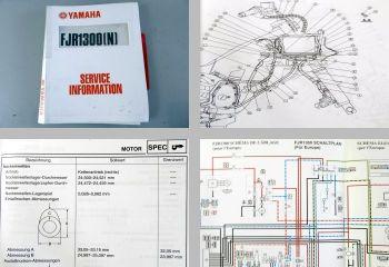 Yamaha FJR1300(N) 2001 Service Information