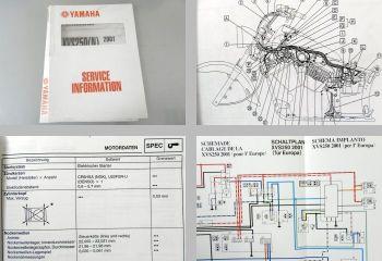 Yamaha XVS250(N) 2001 Service Information