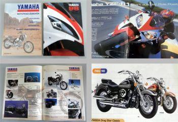Yamaha 1998 Gesamtprospekt + Zubehörkatalog