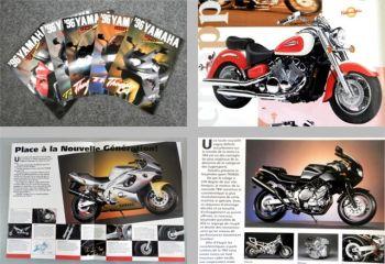 Yamaha TDM850 YZF600R ... Prospekte 5x