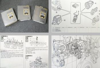 IVECO Eurotakker 19t bis 72t LKW Werkstatthandbuch Reparaturanleitung 1994
