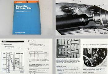VW Iltis ab 1978 Instandhaltung Werkstatthandbuch 1979