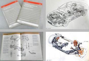 SSP 161 + 163 Audi A8 D8 1994 Konstruktion + Funktion Klimaanlag