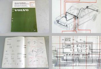 Volvo 340 MJ 1979 Werkstatthandbuch elektrische Schaltpläne