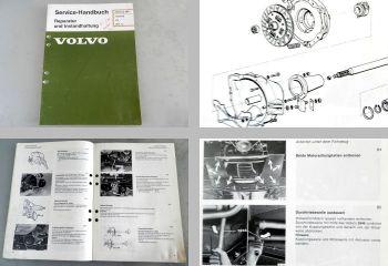 Volvo 340 ab 1976 Kupplung Werkstatthandbuch 1981