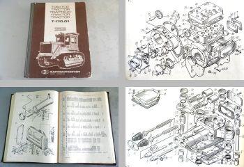 T-170.01 Traktor Ersatzteilliste ca 1980er Jahre
