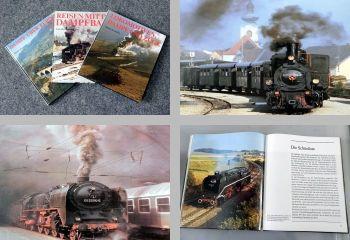 Dampflokomotiven, Dampfbahnen 3 Bücher 1981/1989