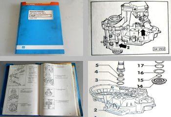 Reparaturleitfaden VW Golf 2 Ralley Synchro Getriebe 02C Werkstatthandbuch