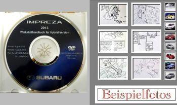 Werkstatthandbuch Reparatur Subaru Impreza 2012/2013 Werkstattha