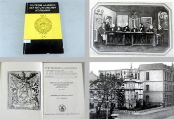 Deutsche Akademie der Naturforscher Leopoldina 1652-1977 Halle S