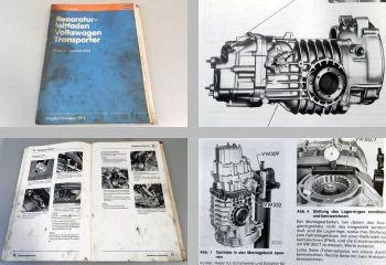 VW Transporter T3 Werkstatthandbuch 4-Gang Getriebe 091/I Kupplung 1982