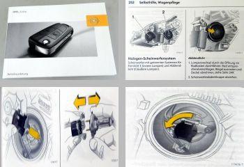 Opel Zafira B Bedienungsanleitung & Wartung 08/2006 Betriebsanleitung