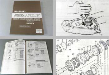 Werkstatthandbuch Suzuki Grand Vitara XL-7 Reparaturanleitung Getriebe 2002