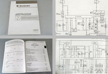 Suzuki Swift SF416 Elektrische Schaltpläne wiring diagram manual