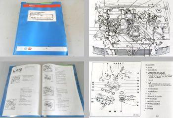 Reparaturleitfaden Audi 80 Werkstatthandbuch 1,6l 2,0l Mono Motronic ABT ABM