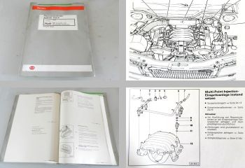Werkstatthandbuch Audi 80 B4 2,8l Reparaturanleitung MPI Zündanlage AAH 1995