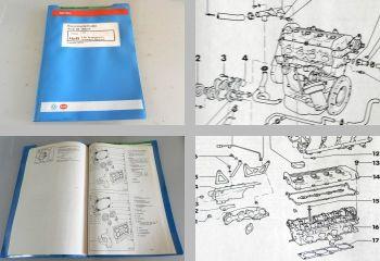 Reparaturleitfaden Audi 80 B4 + Coupe Werkstatthandbuch 2,0l Motor 137 PS 6A