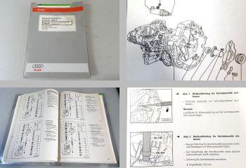 Reparaturleitfaden Audi 80 S2 RS2 Avant 6 Gang Getriebe 01E Allrad CGR CRB