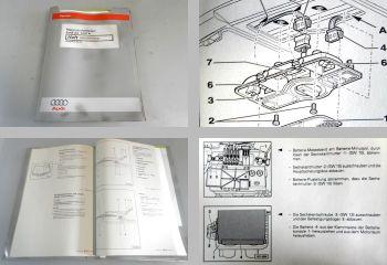Reparaturleitfaden Audi A3 8L Elektrik Elektrische Anlage Werkstatthandbuch 1999