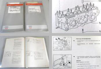 Reparaturleifaden Audi A3 8L Werkstatthandbuch 1,6l Motor + Simos AEH