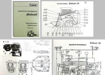 Werkstatthandbuch Lanz Zetcat LL 30 Radlader Reparaturhilfe Fehlersuche