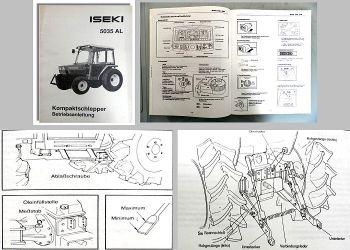 Betriebsanleitung Iseki 5030 5035 AL Kompaktschlepper