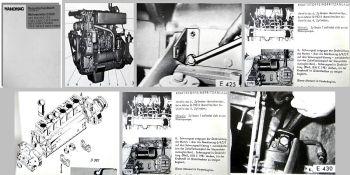 Reparaturhandbuch Massey Ferguson Hanomag Motoren D943 D962 D963 Werkstatthandbu