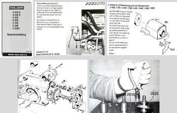 Reparaturanleitung Holder A440S A550+S A560 C440 C560 C5000 Werkstatthandbuch