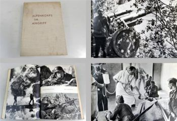 Alpenkorps im Angriff 1940