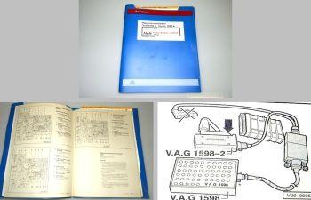 Reparaturleitfaden VW Golf 3 Digifant Zündanlage 1.8 L ADD Werkstatthandbuch