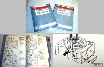 Reparaturleitfaden Audi A4 B5 Turbo Motor & Motronic AEB Werkstatthandbuch