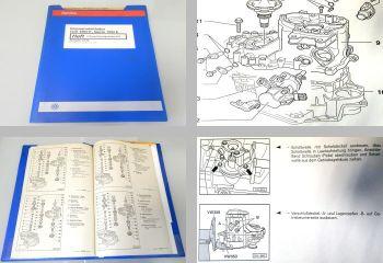 Reparaturleitfaden Werkstatthandbuch VW Golf 3 Cabrio 5-Gang Schaltgetriebe 02J