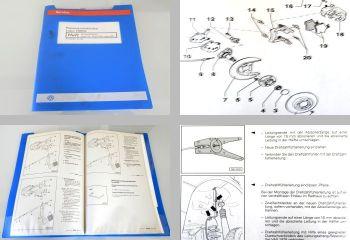 Werkstatthandbuch VW Lupo 3L FSI GTI Bremse Bremsanlagen Reparaturleitfaden