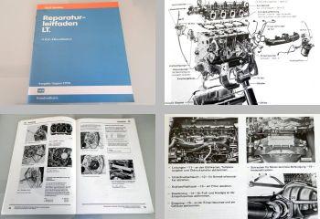 Werkstatthandbuch VW LT 1  ab 1975 4 Zyl. Dieselmotor 2,7l CG Reparaturleitfaden