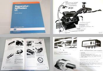 Reparaturleitfaden VW LT I ab 1975 Reparaturhandbuch Heizung Lüftung 1978