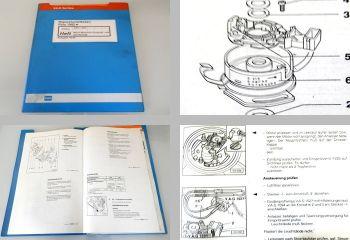 Reparaturleitfaden VW Polo 86C GT Coupe Werkstatthandbuch Mono-Motronic AAU  AAV
