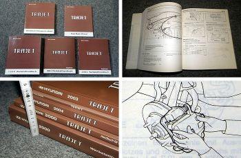 Werkstatthandbuch Hyundai Trajet 2000 - 2004 Reparaturanleitung in 5 Bänden