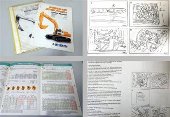 Hyundai Robex 290 290Lc Betriebsanleitung + Prospekt